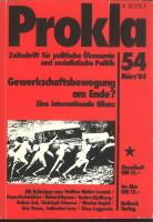 Ansehen Bd. 14 Nr. 54 (1984): Gewerkschaftsbewegung am Ende? Eine internationale Bilanz