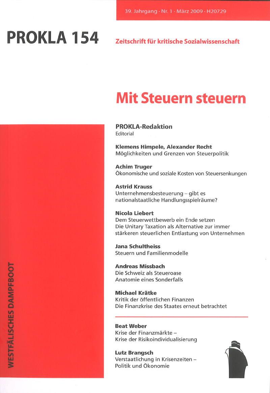 Archive - Seite 2 | PROKLA. Zeitschrift für kritische Sozialwissenschaft
